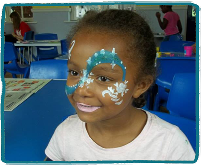 Face Painting Kids Holiday Camp Essex