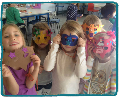 Mask Making Kids Holiday Camp Essex