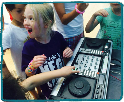 DJ workshop Kids Holiday Camp Essex