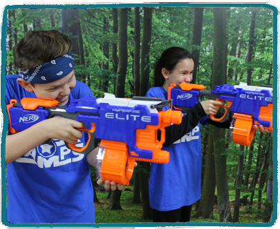 Nerf Wars Kids Holiday Camp Essex