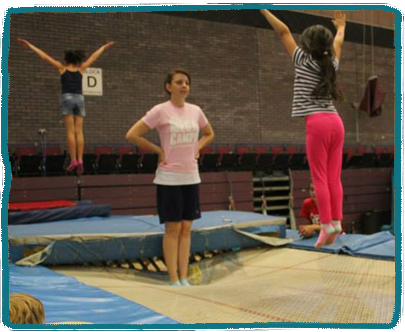 Trampolining Kids Holiday Camp Essex
