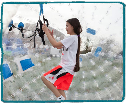 Zorbing Kids Holiday Camp Essex