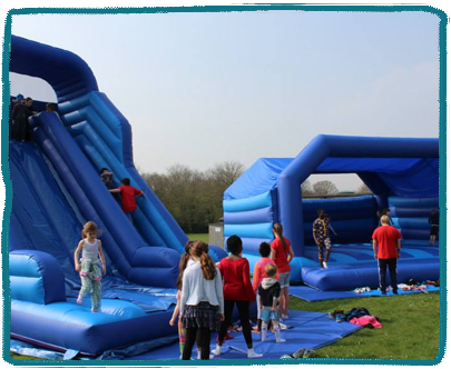 Bouncy Castles Kids Holiday Camp Essex