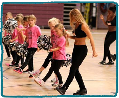 Cheerleading Kids Holiday Camp Essex