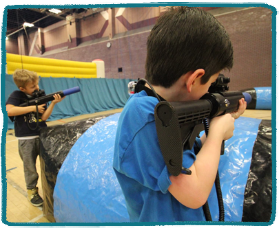 Laser Tag  Kids Holiday Camp Essex